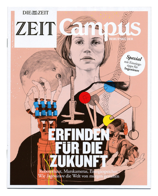 Cover Illustration for Zeit Campus