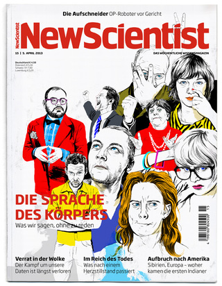Cover Illustration for New Scientist